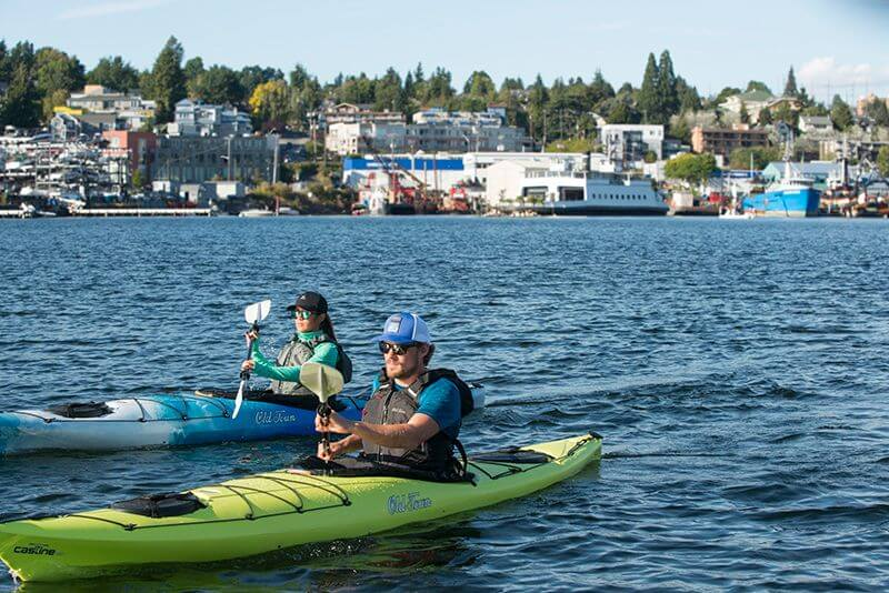 Kayaking in the Puget Sound | Old Town